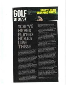 bud golf digest