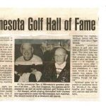 MN Golf Hall of Fame article